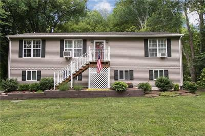 Scituate Single Family Home For Sale: 166 Trimtown Rd