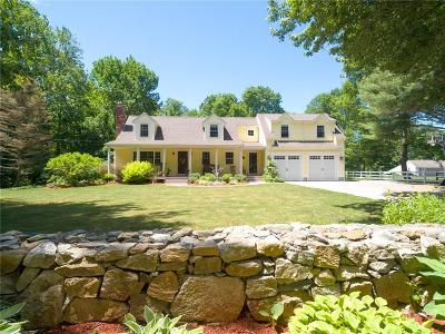 Scituate Single Family Home Act Und Contract: 53 Trimtown Rd