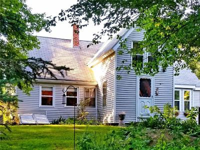 Coventry Single Family Home For Sale: 245 Station St
