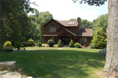 Smithfield Single Family Home For Sale: 214 Mann School Rd