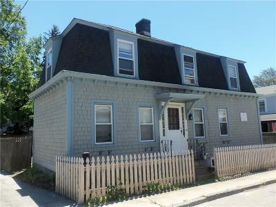 Newport Single Family Home Act Und Contract: 19 Appleby St