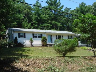 Burrillville Single Family Home Act Und Contract: 336 Victory Hwy