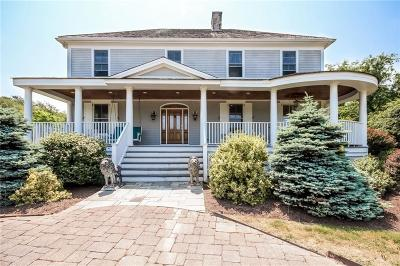 Newport Single Family Home For Sale: 1 Ocean Heights Rd