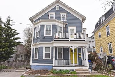 Providence County Multi Family Home Act Und Contract: 76 Locust St