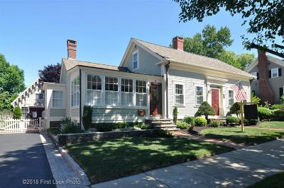 Bristol County Single Family Home For Sale: 41 Constitution St