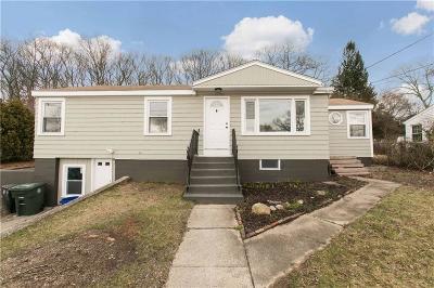 Coventry Single Family Home For Sale: 176 Pilgrim Av