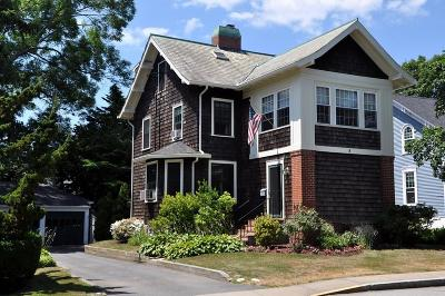 Newport Single Family Home For Sale: 8 - 10 S Summer St