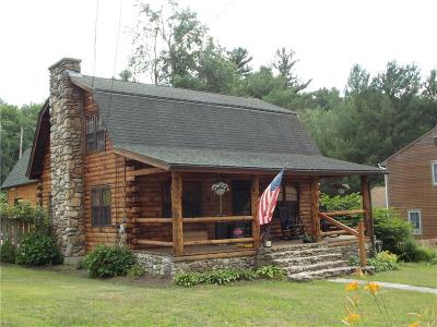 Burrillville Single Family Home Act Und Contract: 799 Black Hut Rd