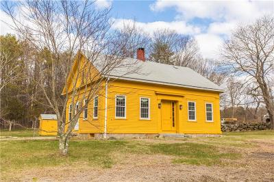 Scituate Single Family Home For Sale: 523 Field Hill Rd