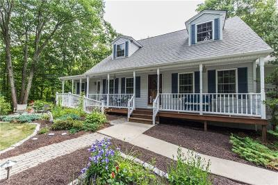 Scituate Single Family Home For Sale: 338 Rockland Rd