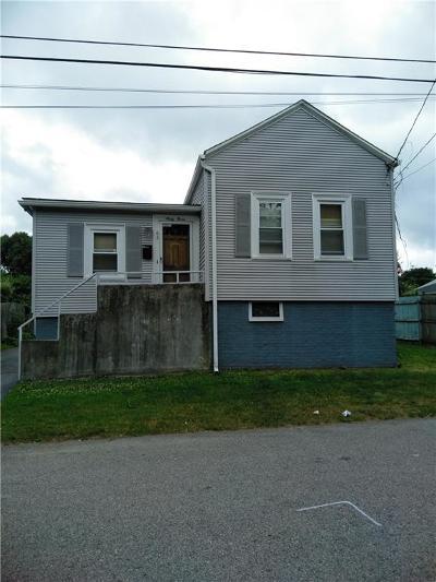 Providence County Single Family Home For Sale: 63 Hobson Av