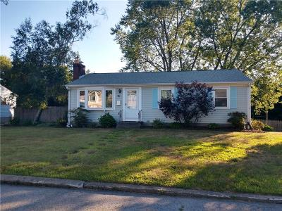 Cumberland RI Single Family Home For Sale: $259,000