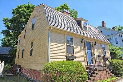 Newport Single Family Home For Sale: 41 Walnut St