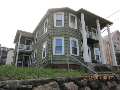 Woonsocket Multi Family Home For Sale: 468 Cumberland Hill Rd