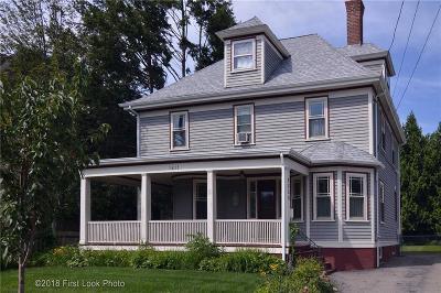 Cranston Single Family Home For Sale: 1411 Narragansett Blvd