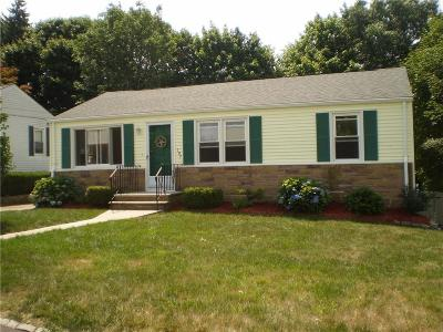 Cranston Single Family Home For Sale: 197 Holland St