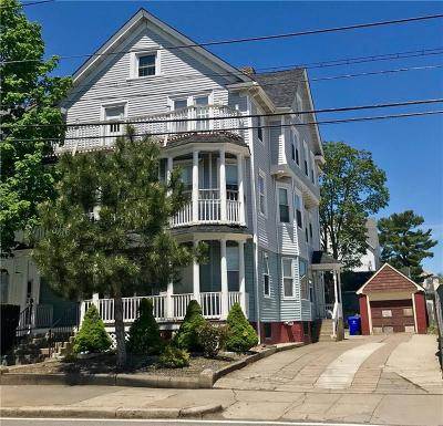 Pawtucket Multi Family Home Act Und Contract: 252 Central Av
