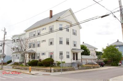 Central Falls Multi Family Home For Sale: 105 School St