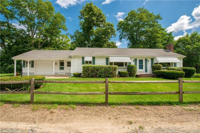 Lincoln Single Family Home For Sale: 487 Old River Rd