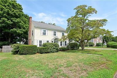 East Providence Single Family Home Act Und Contract: 144 Hoyt Av