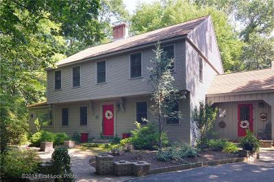 Scituate Single Family Home For Sale: 45 Hunting House Lane