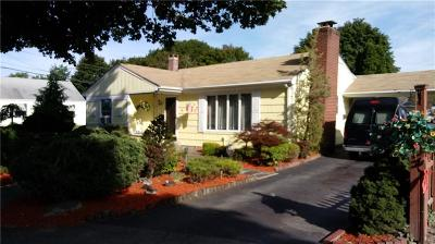 Pawtucket Single Family Home For Sale: 3 Doran Dr