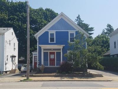 Pawtucket Multi Family Home For Sale: 1285 Newport Av