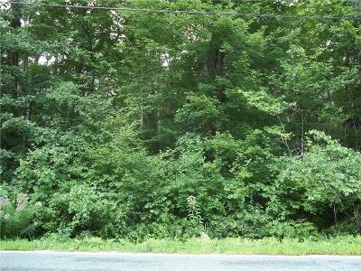 Burrillville RI Residential Lots & Land For Sale: $99,900