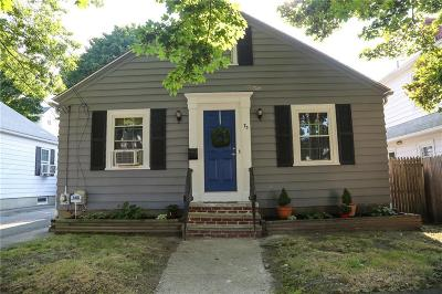 Providence Single Family Home Act Und Contract: 73 Clematis St
