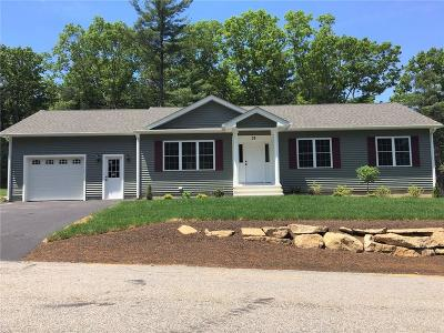 Coventry Single Family Home For Sale: 33 Old North Rd