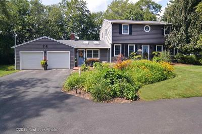 Coventry Single Family Home For Sale: 74 Tiffany Rd