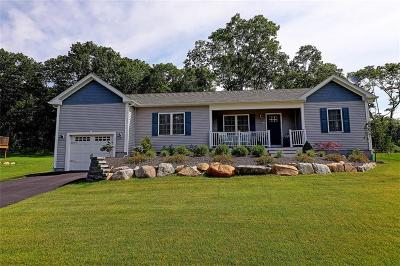 Coventry Single Family Home For Sale: 148 East Shore Dr