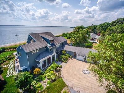 Barrington RI Single Family Home For Sale: $3,200,000