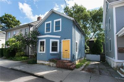 Newport Single Family Home For Sale: 45 - 1/2 Second St