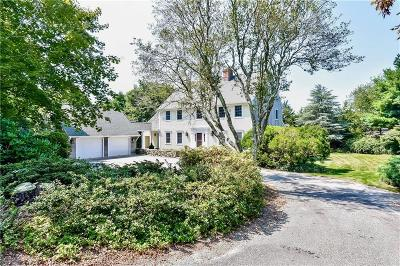 Westerly Single Family Home For Sale: 115 Watch Hill Rd