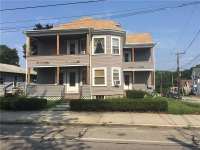 Woonsocket Multi Family Home For Sale: 541 South Main St