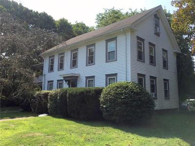 North Kingstown Multi Family Home Act Und Contract: 120 Ten Rod Rd