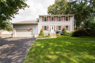 South Kingstown Single Family Home Act Und Contract: 20 Peaked Rock Rd
