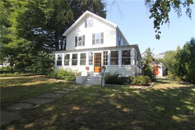 Jamestown Single Family Home Act Und Contract: 76 Clinton Av
