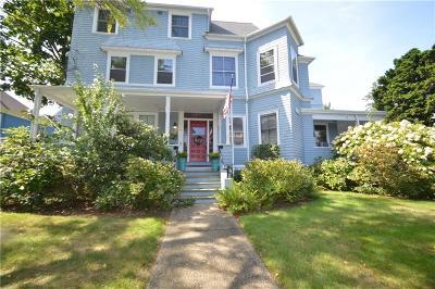 Newport Condo/Townhouse For Sale: 39 - 41 Cranston Av, Unit#3 #3