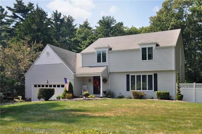 Coventry Single Family Home For Sale: 91 Wisteria Dr