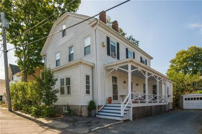 Newport Single Family Home Act Und Contract: 41 Sherman St