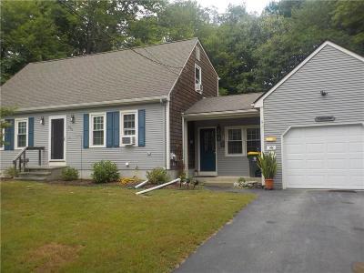 Burrillville Single Family Home For Sale: 394 Steere Farm Rd
