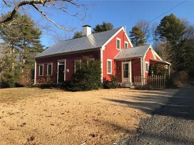 North Smithfield Single Family Home For Sale: 276 Douglas Pike