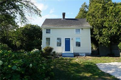 Tiverton Single Family Home Act Und Contract: 186 Bulgarmarsh Rd