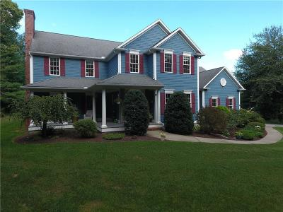 North Kingstown Single Family Home Act Und Contract: 128 Sugarbush Trl