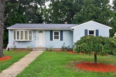 Cranston RI Single Family Home For Sale: $225,000