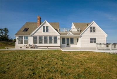 Block Island Single Family Home For Sale: 1548 Coast Guard Rd