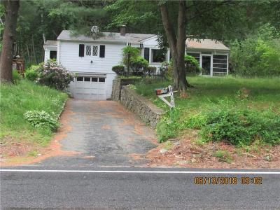 North Smithfield Single Family Home Act Und Contract: 184 Greenville Rd