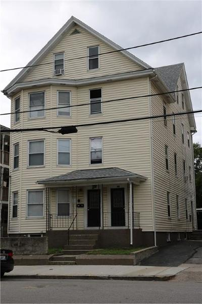 Central Falls Multi Family Home For Sale: 73 - 75 Fales St